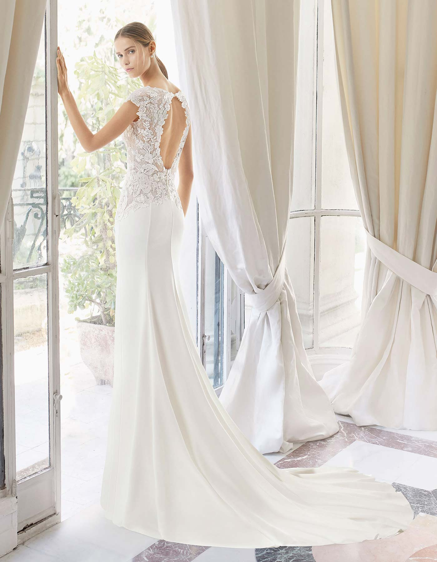 Madras By Rosa Clara Couture Fit Amp Flare Wedding Dress