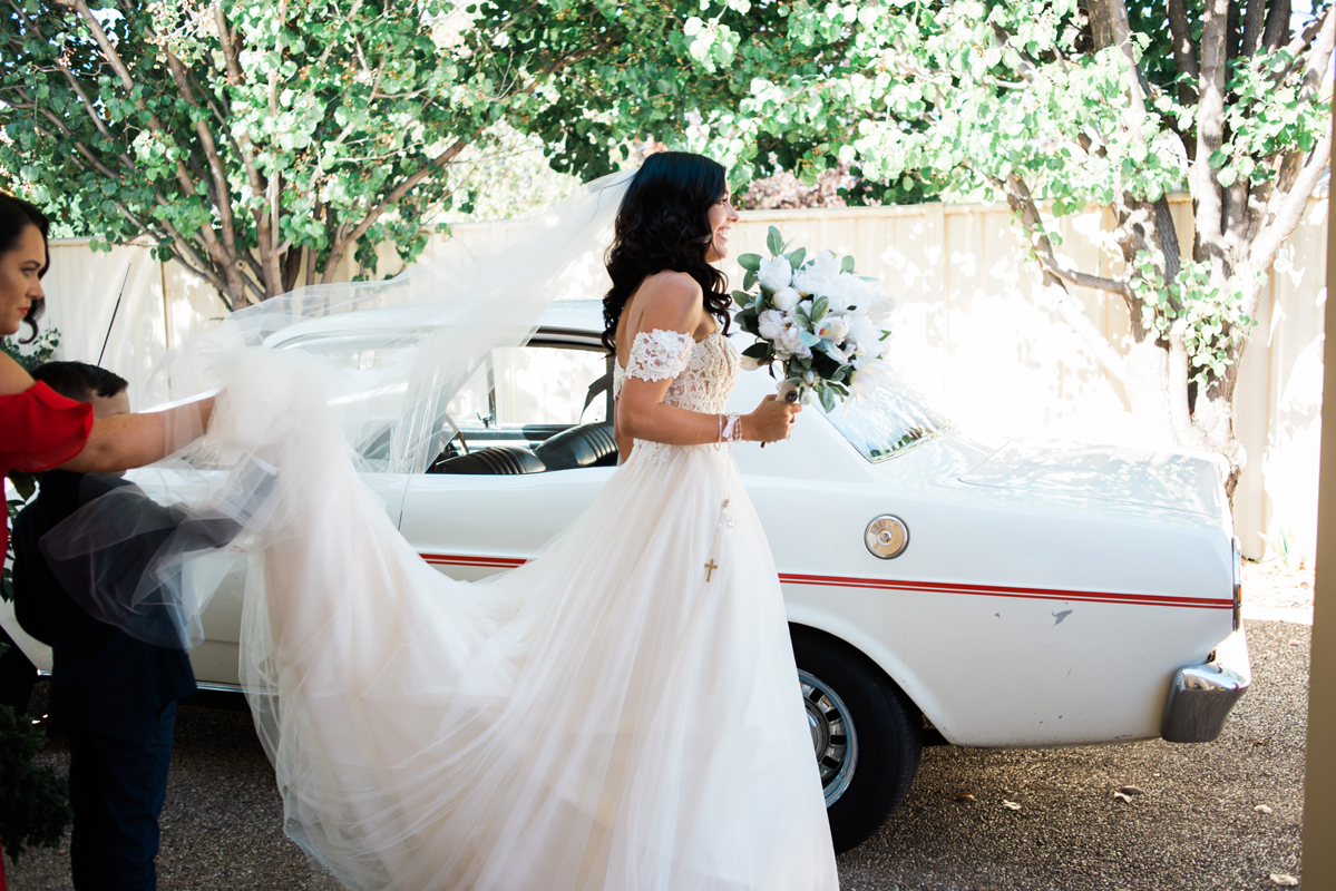 Laura + Daniel | RC Real Bride | Real Bride | Real Wedding | Melbourne Wedding | Raffaele Ciuca | Rebecca Ingram Lavonne Dress with Detachable sleeves | Maggie Sottero