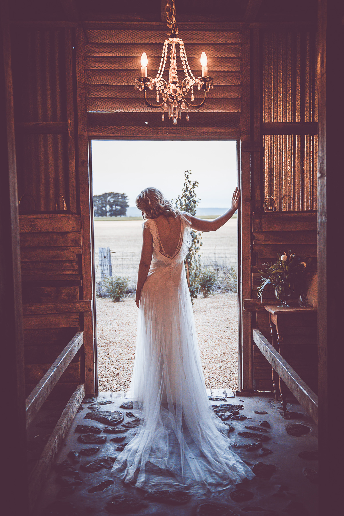 BRIDGET + DARCY | ECO BY PRONOVIAS | Real Wedding Melbourne Real Bride