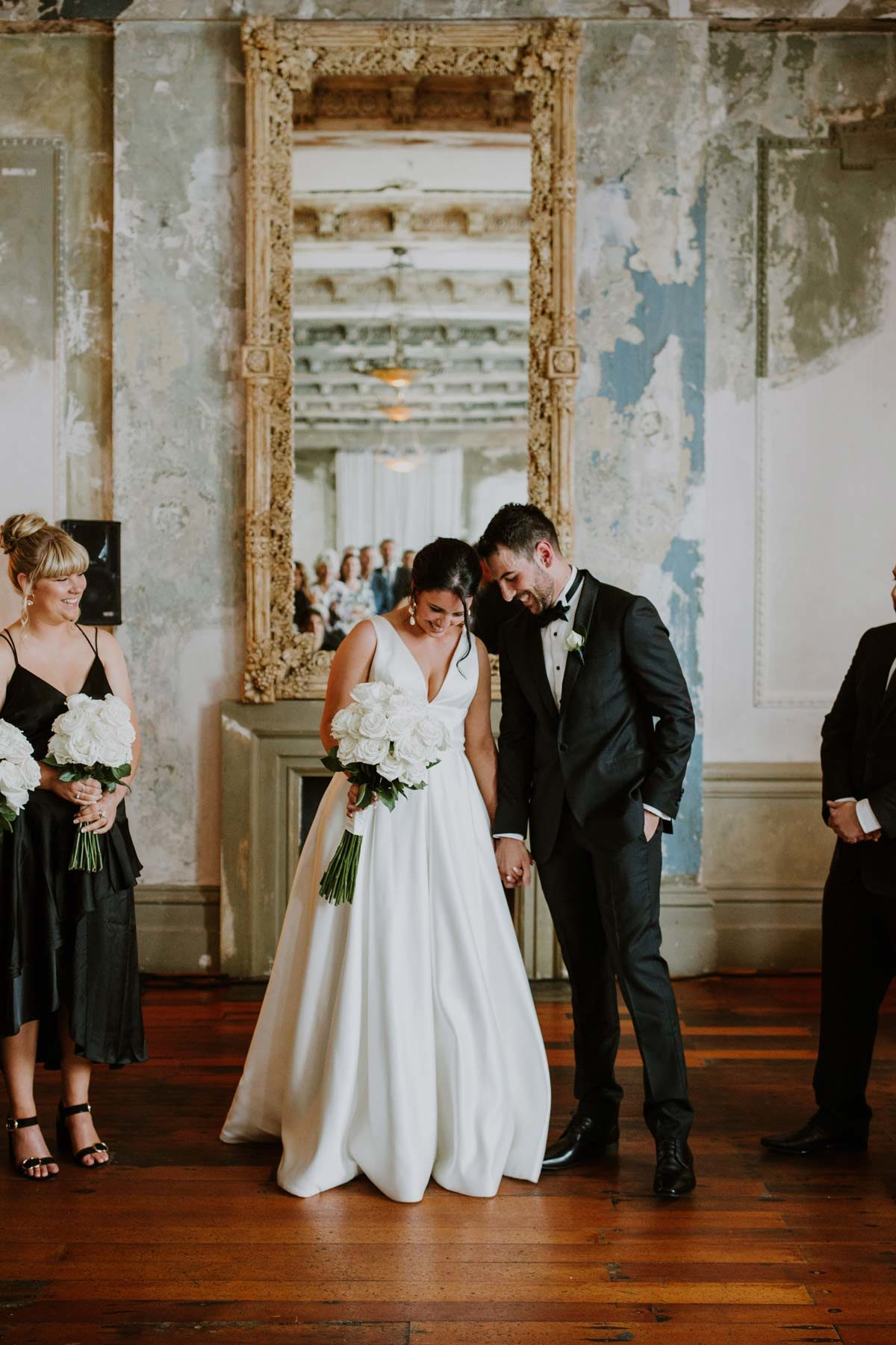 APRIL + ADAM | REAL BRIDE | REAL WEDDING | La Sposa Ralea BALLGOWN