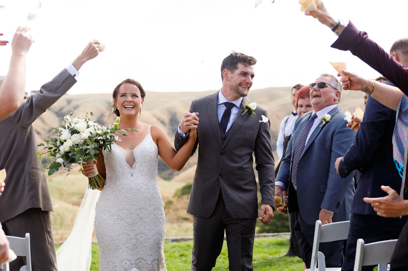 Danielle + Caylem | Raffaele Ciuca Real Bride | Real Wedding | New Zealand Wedding | Mietra by Maggie Sottero